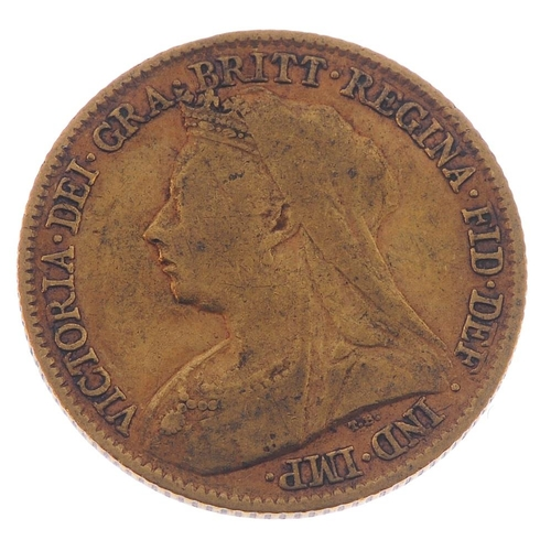 31 - Victoria, Half-Sovereign 1895. Fine.  <br>Fine.  <br>...