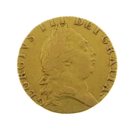 5 - George III, Guinea 1791. Fine, reverse better. <br>Fine, reverse better. <br>...