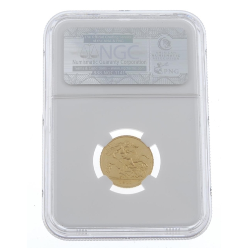 68 - George V, proof Half-Sovereign 1911 (S 4006). Uncirculated, in NGC holder graded PF65 Cameo. <br>Unc...