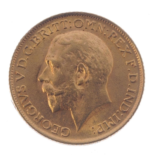 84 - George V, Sovereign 1912. Good very fine. <br>Good very fine. <br>...