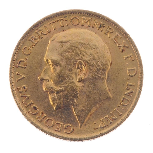 89 - George V, Sovereign 1914. Good very fine.  <br>Good very fine.  <br>...