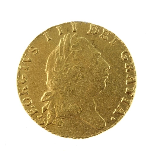 9 - George III, Half-Guinea 1797 (S 3735). Very fine.  <br>Very fine.  <br>...