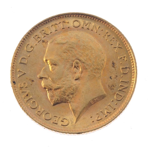 95 - George V, Half-Sovereign 1912, good very fine, British 19th and 20th century coins, mostly base, sma...