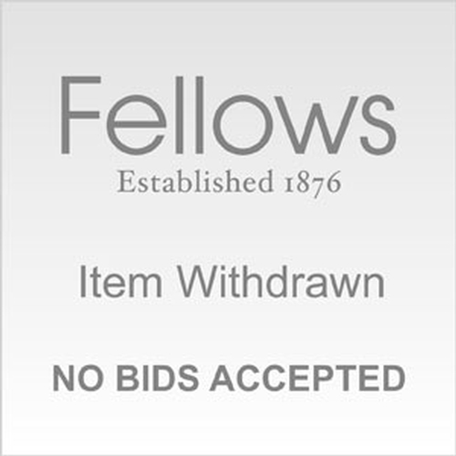15 - THIS LOT HAS BEEN WITHDRAWN<br> FELLOWS APOLOGISE FOR ANY INCONVENIENCE CAUSED <br> 18/10/16...