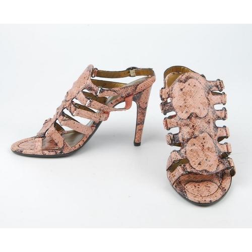 Bottega Veneta Python Sandal Nicekicks Sale Online For Sale Footlocker Free Shipping Low Shipping 8m0rU