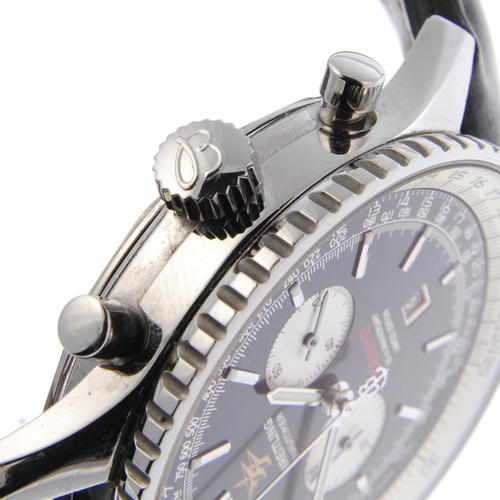 14 - BREITLING - a limited edition gentleman's Navitimer 'Wempe 125th Anniversary' chronograph wrist watc...