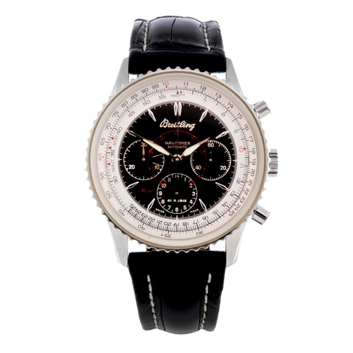 4 - BREITLING - a limited edition gentleman's Navitimer Montbrilliant chronograph wrist watch. Number 19...