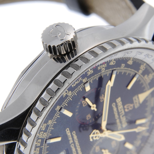 10 - BREITLING - a limited edition gentleman's Chrono-Matic SE chronograph wrist watch. Circa 2003. Numbe...