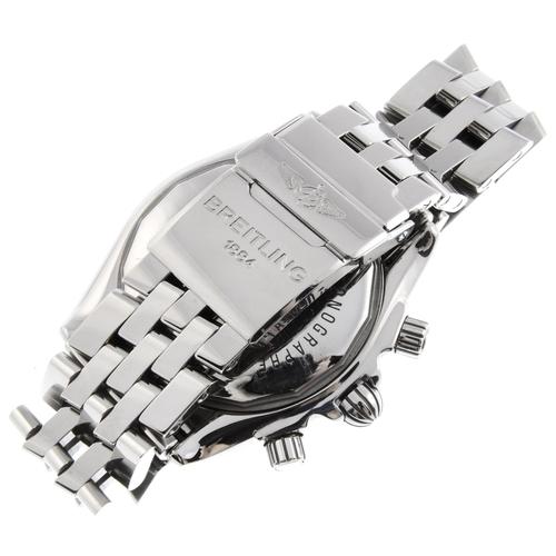 16 - BREITLING - a gentleman's Chronomat Evolution chronograph bracelet watch. Circa 2006. Stainless stee...