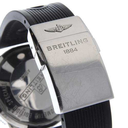 17 - BREITLING - a gentleman's SuperOcean Heritage chronograph wrist watch. Circa 2008. Stainless steel c...