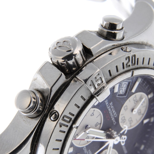 18 - BREITLING - a gentleman's Colt chronograph bracelet watch. Circa 2008. Stainless steel case with cal...