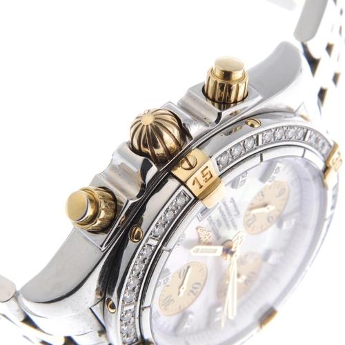 19 - BREITLING - a gentleman's Chronomat Evolution chronograph bracelet watch. Circa 2005. Stainless stee...