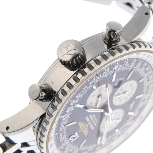 20 - BREITLING - a gentleman's Navitimer Heritage chronograph bracelet watch. Stainless steel case with i...