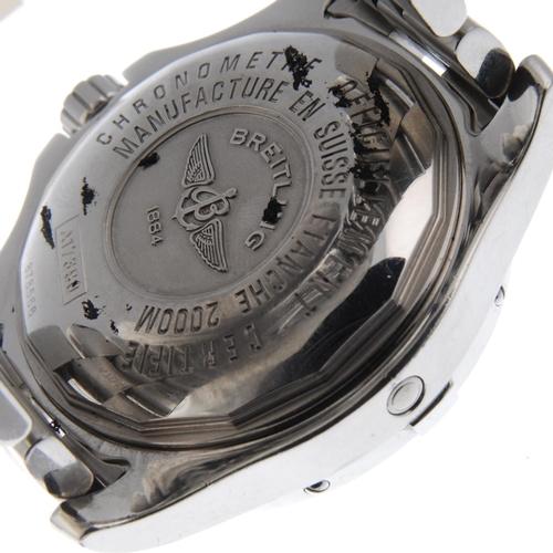 34 - BREITLING - a gentleman's SuperOcean Steelfish X-Plus bracelet watch. Circa 2005. Stainless steel ca...