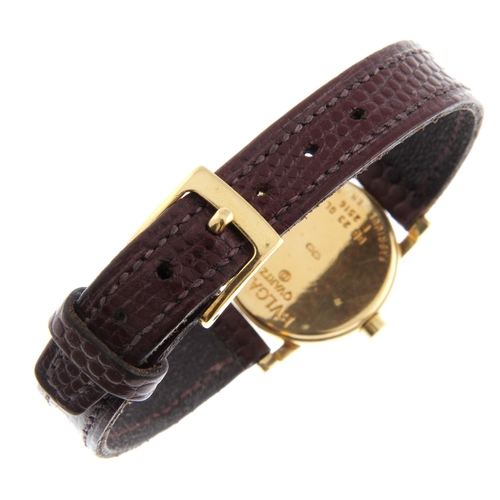 37 - BULGARI - a lady's wrist watch. 18ct yellow gold case. Reference BB23GL, serial F2516. Unsigned quar...