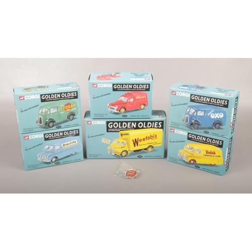 2 - Six boxed Corgi Golden Oldies diecast model vehicles, including Ovaltine, Nestles, Kodak etc. to als...