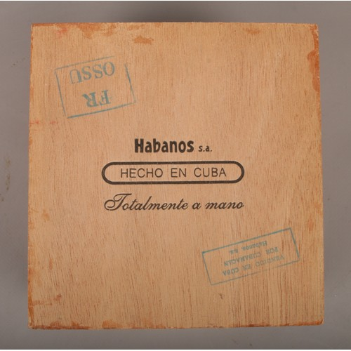 49 - A sealed box of Cohiba Habanos cigars, 25 robustos....