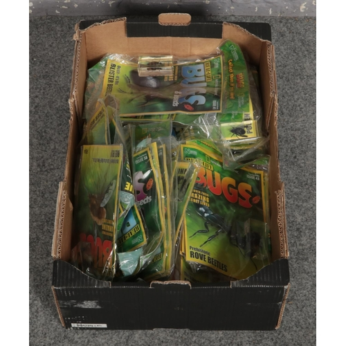 182 - A box of real-life bug collector magazines....