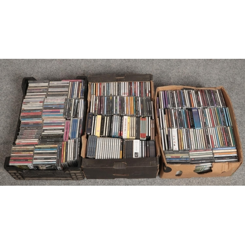 204 - Three boxes of CDs....
