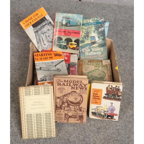 267 - A box of Train books, Edward Cecil Poultney British Express Locomotive Development, British Railways...