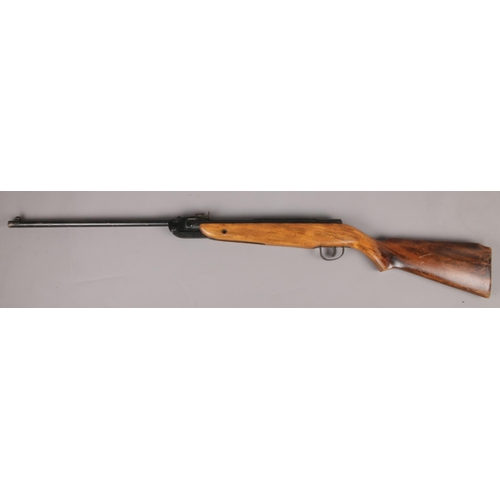540 - A Webley Falcon .22 break barrel air rifle.  SORRY WE CAN NOT PACK AND SEND....