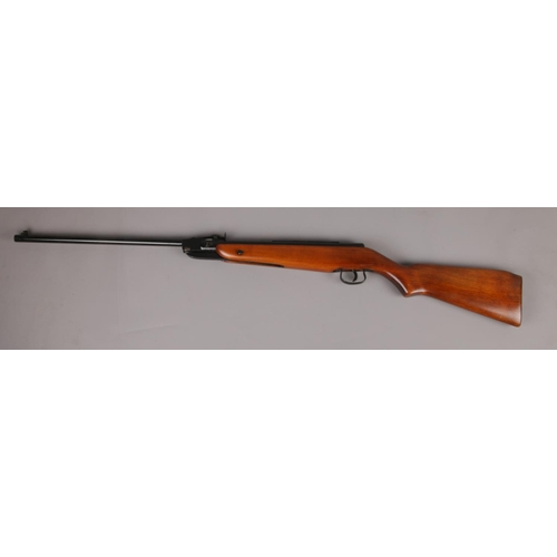 544 - A Webley Falcon .22 calibre break barrel air rifle. SORRY WE CAN NOT PACK AND SEND....