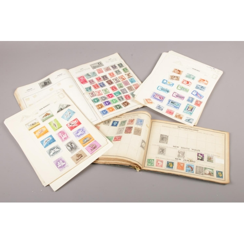 57 - Two Stamp Albums of British and world stamps....