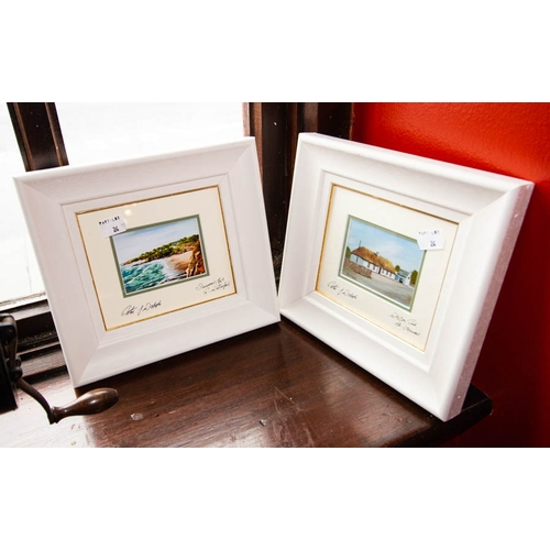 24 - 4 LOCAL PRINTS - WATERFORD SCENES 21 X 23CM FRAMED...