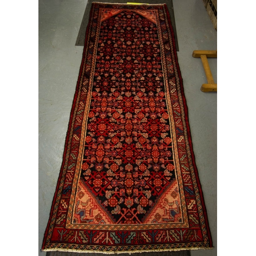 PERSIAN RUNNER WITH ALLOVER DESIGN 287 X 103