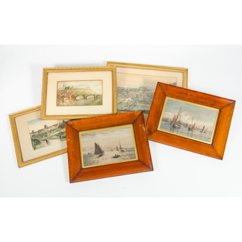 485 - Various paintings, including a signed water colour by C. Gardner etc....