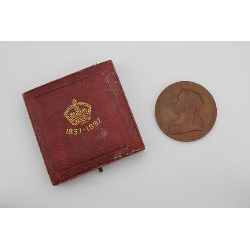 634 - A Victorian 1837-1897 bronze medal....