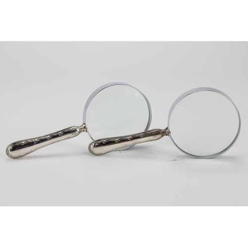 160 - A Pair of Silver handled magnifying glasses.