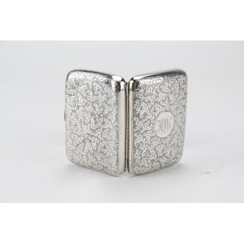 20 - Victorian Silver engrave Cigarette case...