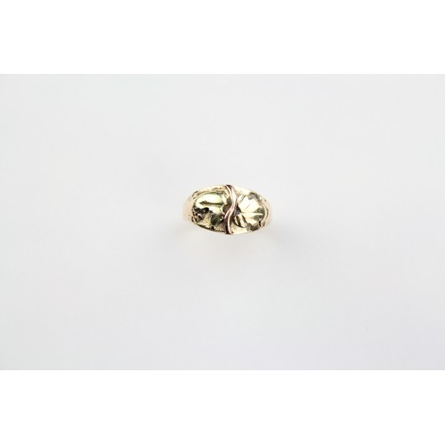 47 - A Gilpin & Co Multi-Coloured Gold Dress Ring marked 14K. 3.1 grams....