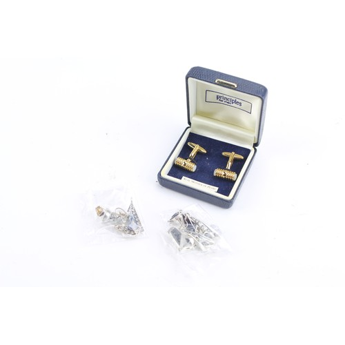 46 - A collection of silver earrings, pendants etc....