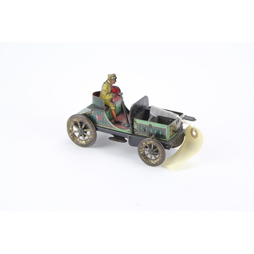 913 - A Scarce 1920's Gunthermann Friction Driven Toy Car with Driver in Good Original Condition....