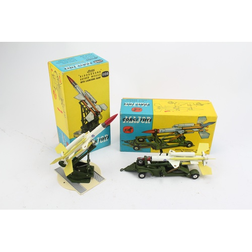 757 - This is a Scarce Pair of Corgi Rocket Age Models to include: 1108 -