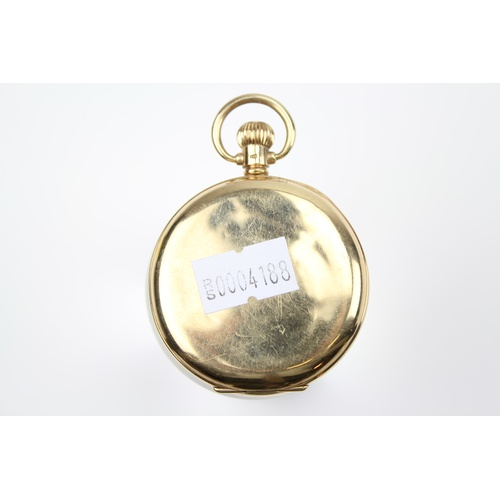 78 - A Gents 9 carat Gold keyless wind pocket watch by