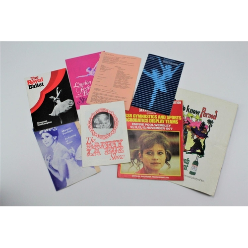 53 - Various pamphlets, including Margot Fonteyn, Daily Mirror, etc....