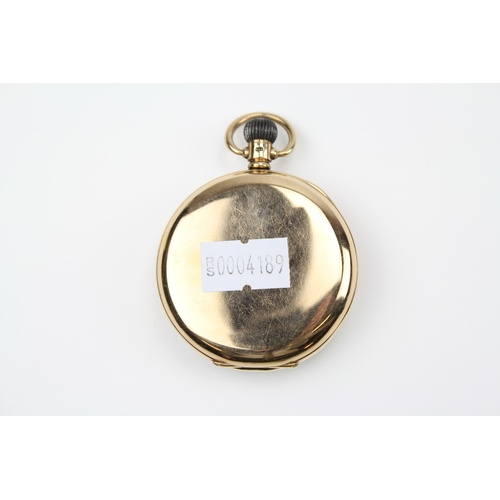 46 - A 9 carat Gold Gents pocket watch by