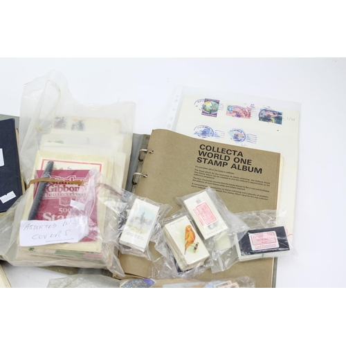324 - A collection of Stamps, First Day Covers, Letters, etc....