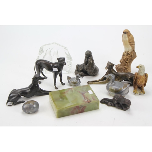 88 - Various collectables including figures of dogs and ducks etc....