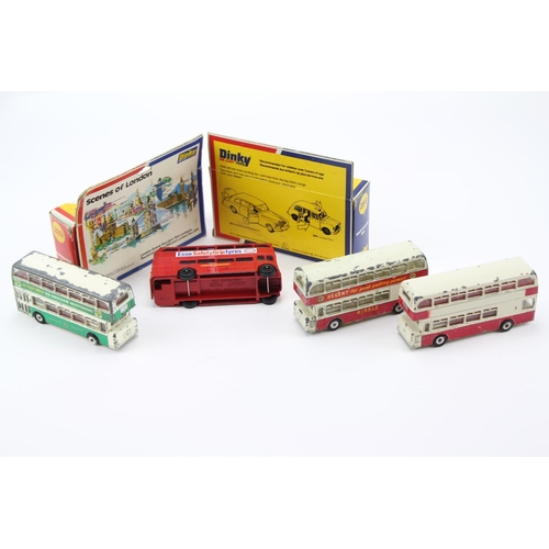 434 - 6 x Dinky Bus Models to include: 3 x 289