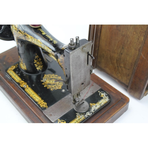 316 - A 1920's Sewing Machine in Original Case....