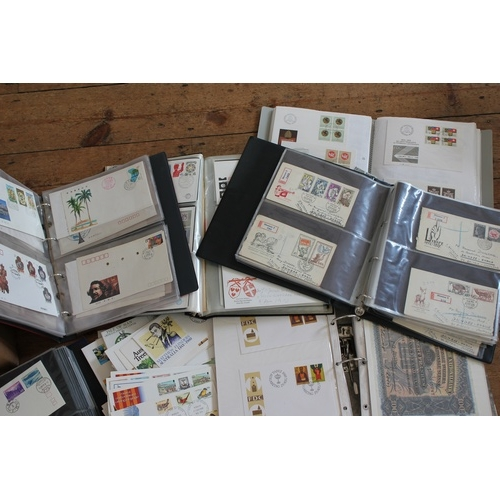 322 - A collection of all world first day covers, some old but mostly modern....