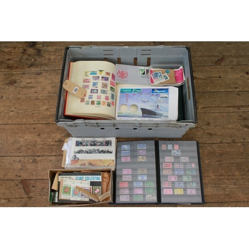 490 - A Large collection of stamps mostly in Albums. Needs Viewing.