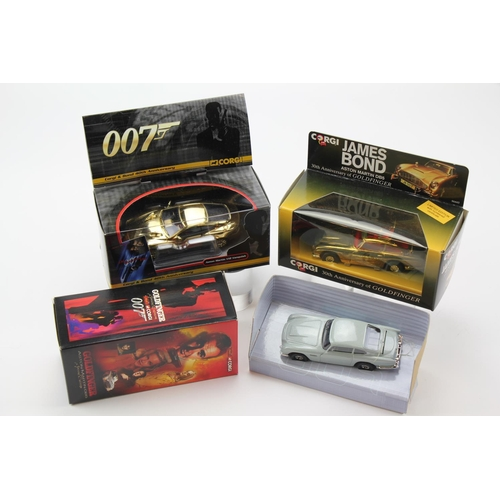 2 - 3 x Corgi James Bond Models to include: Aston Martin DB5 Gold Plated, a Goldfinger Aston Martin DB5 ...