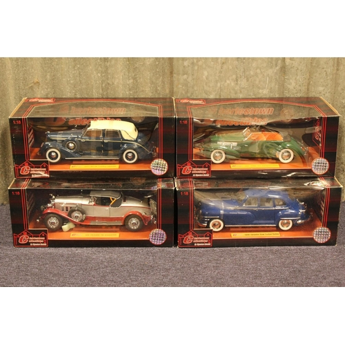 37 - A Collection of 4 x 1/18th scale Charleston Collectable models (Limited Editions) all in Near Mint/M...