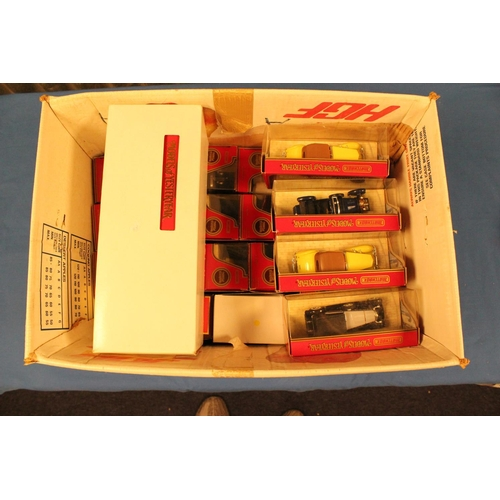 61 - 25 x Later Style Matchbox Yesteryear Models, All Near Mint/Mint condition with Excellent Boxes. Some...