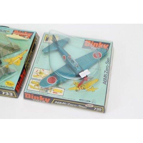 20 - 2 x Dinky Planes to include a Boxed 733